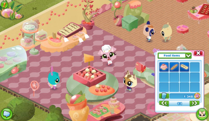 littlest pet shop online screenshott